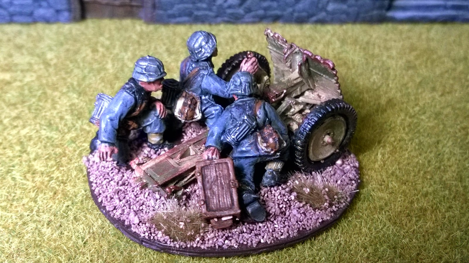 75mm LeIG I8 light artillery bolt action german