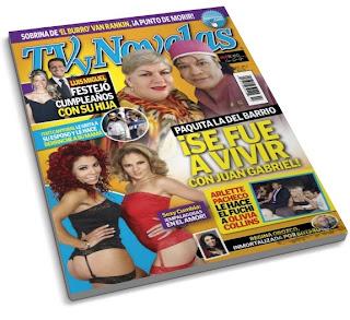 Revista tvynovelas m xico 23 abril 2012 versi n pdf for Revistas de espectaculos
