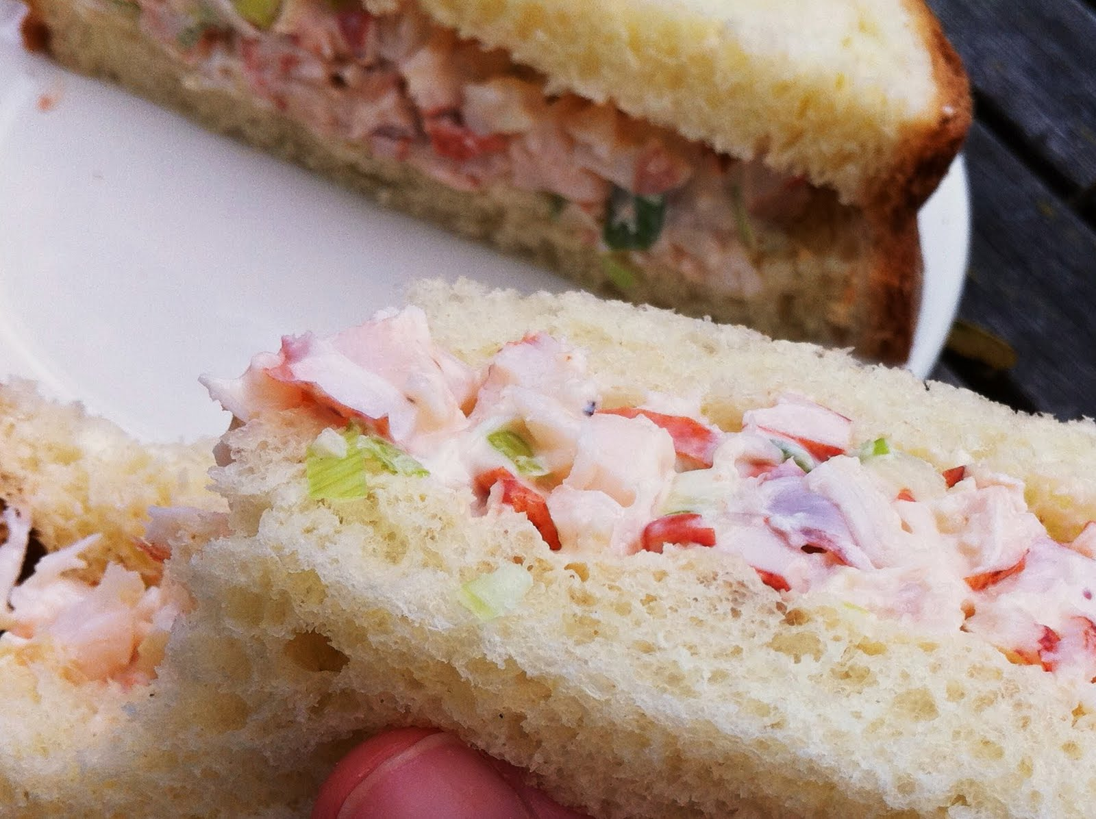 FOOD STYLING AND REAL LIFE: Lobster Sandwich