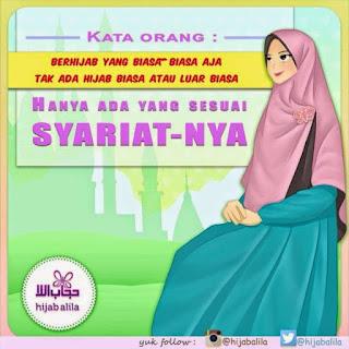 kartun islami gambar remaja wanita muslimah cantik