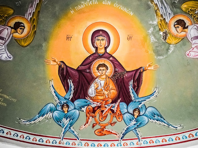 María aparece en Egipto