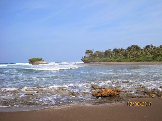Keusik Luhur Pangandaran Beach