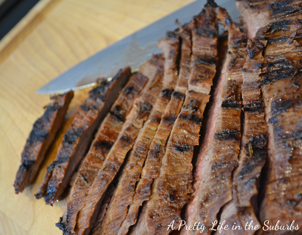 Beer & BBQ Flank Steak