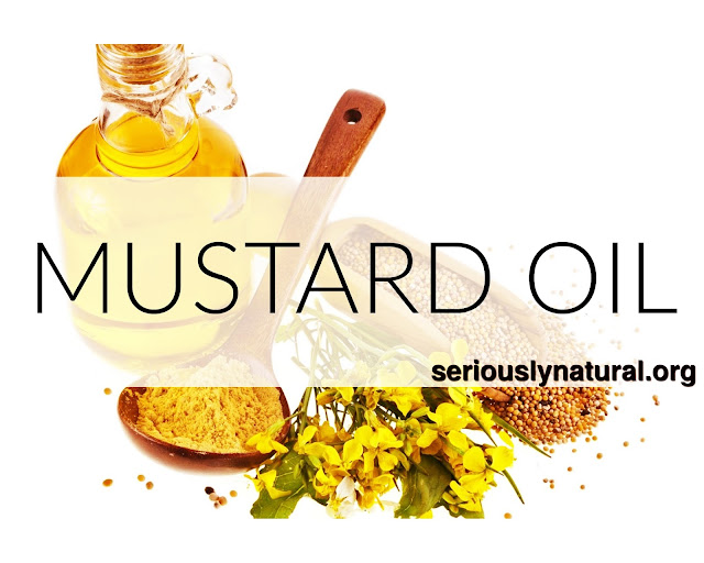 Click here to buy Dabur Mustard Oil as a great way to foster hair growth.