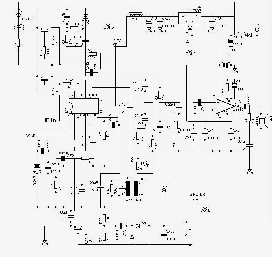 Elektronikaog Receiver Nbfm Menggunakan Ic Mc