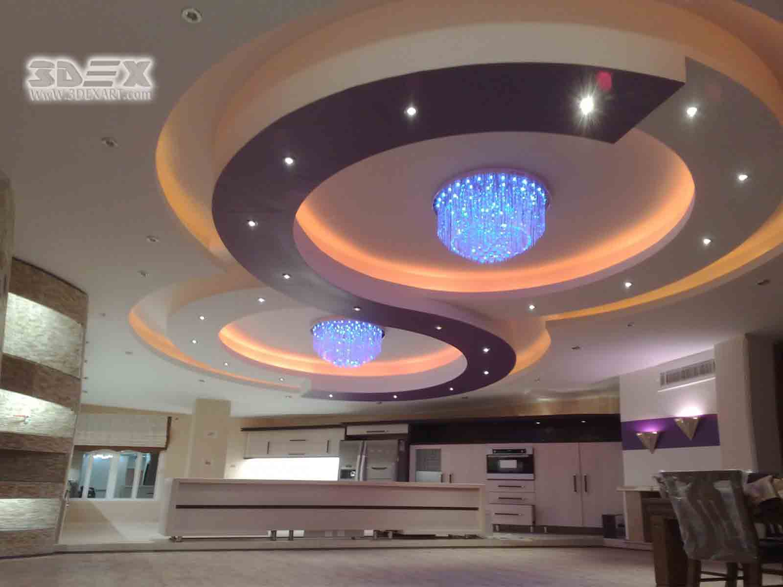 Ceiling Pop Design For Hall