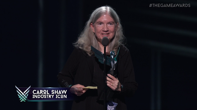 The Game Awards 2017 Carol Shaw industry icon award Atari Activision River Raid female woman developer
