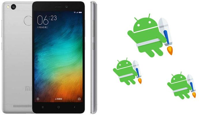 Cara Flashing Xiaomi Redmi 3S, Prime dan 3X