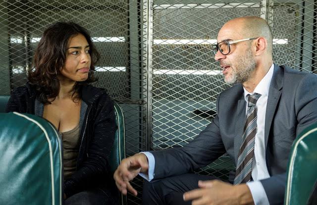 Altagracia (Adriana Paz) y Sandoval (Ramiro Blas) en la 4ª Temporada de 'Vis a Vis'
