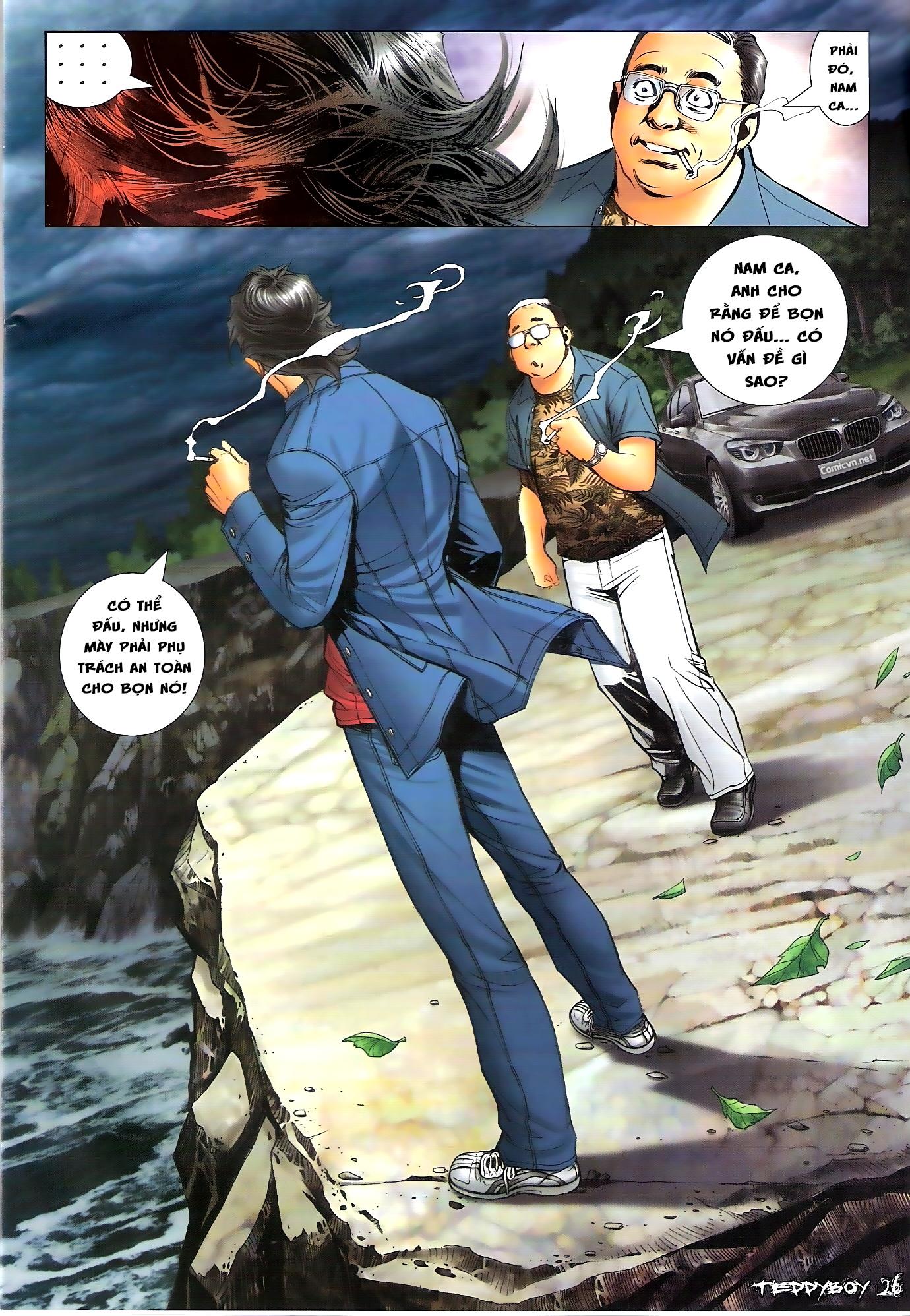 Người Trong Giang Hồ - Chapter 1305: Trước ngày quyết chiến - Pic 23