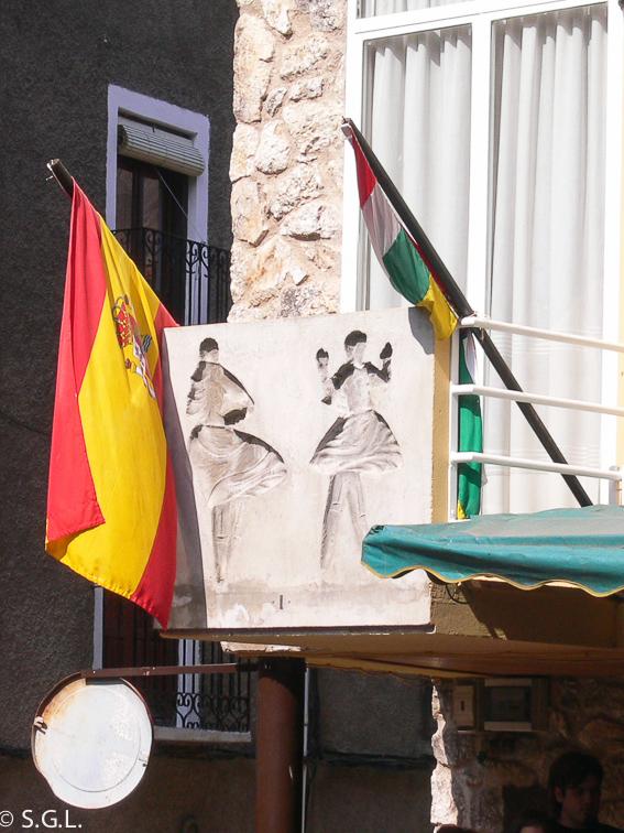 La danza de los zancos de Anguiano. La Rioja