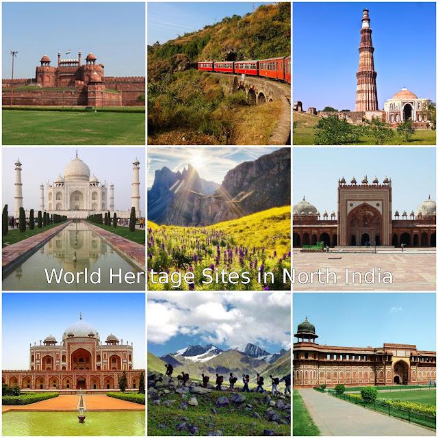 World Heritage Sites in India