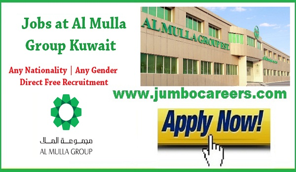 Kuwait sales jobs for Indians, credit collector manager jobs in Kuwait,