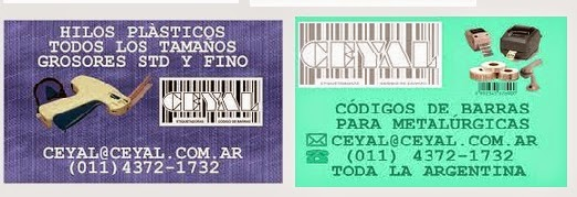 ROLLO ETIQUETA 2 LINEAS San Fernando argentina