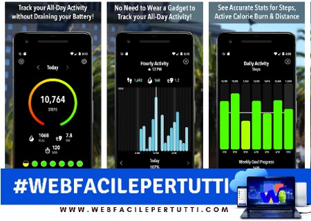 Activity Tracker - Applicazione che rileva pass e camminate senza servirsi di smartwatch o di un band