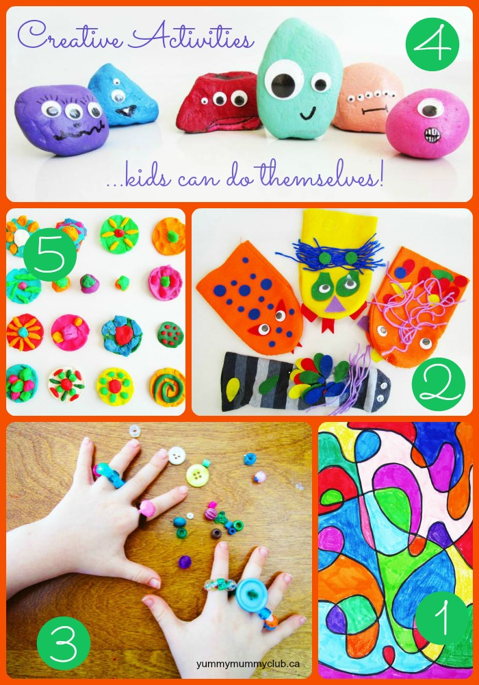 5 awesome crafts kids