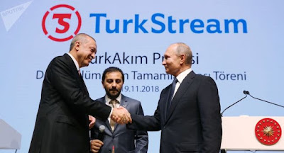 """Газпром оголосив про завершення прокладання морської частини """"Турецького потоку"""""""