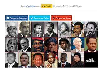 DAL 1963 22 PRESIDENTI AFRICANI SONO STATI 'MISTERIOSAMENTE UCCISI', PARE ANCHE PER LA LORO OPPOSIZIONE ALL'IMPERIALISMO FRANCESE. ECCO CHI ERANO