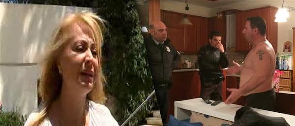 Άγρια ληστεία με πυροβολισμούς και ξύλο στο σπίτι της Τέτας Καμπουρέλη..Έφυγαν με 100.000 ευρώ οι ληστές!(Εικόνες-Βίντεο)