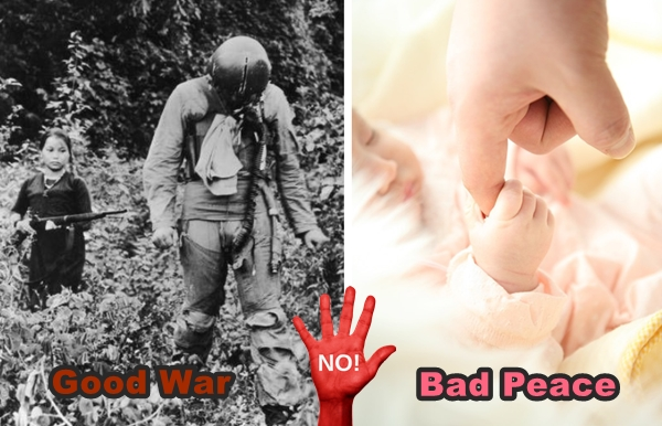 war good or bad Consider this a friendly reminder to president obama on his way to hiroshima no matter how many years one writes books, does interviews, publishes columns, and.
