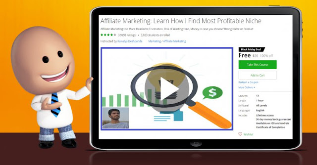 [100% Off] Affiliate Marketing: Learn How I Find Most Profitable Niche| Worth 20$