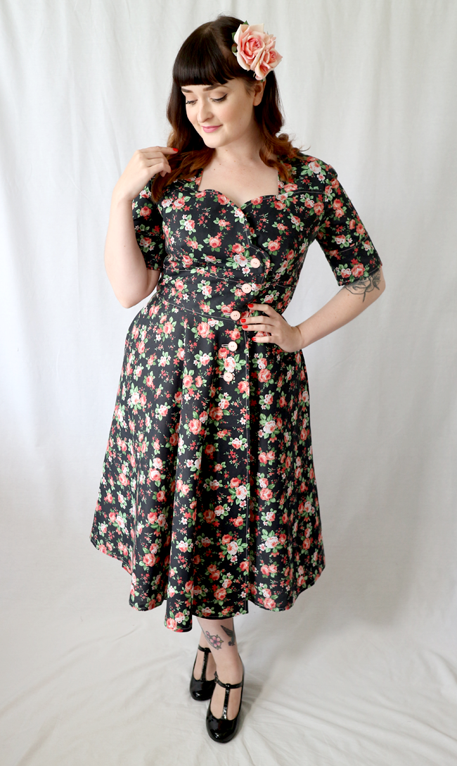 Simplicity 8259 1950s Style Dress Sew Along The Crafty Pinup