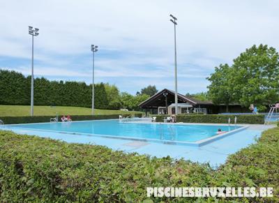 Les piscines de bruxelles for Prix piscine exterieure