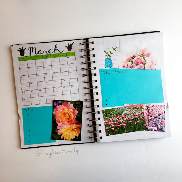 March 2019 Bullet Journal Setup