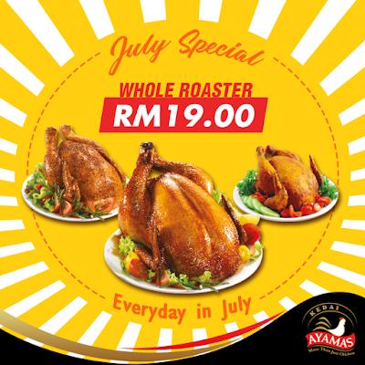 Kedai Ayamas Roasters Ayam Panggang Discount Promo