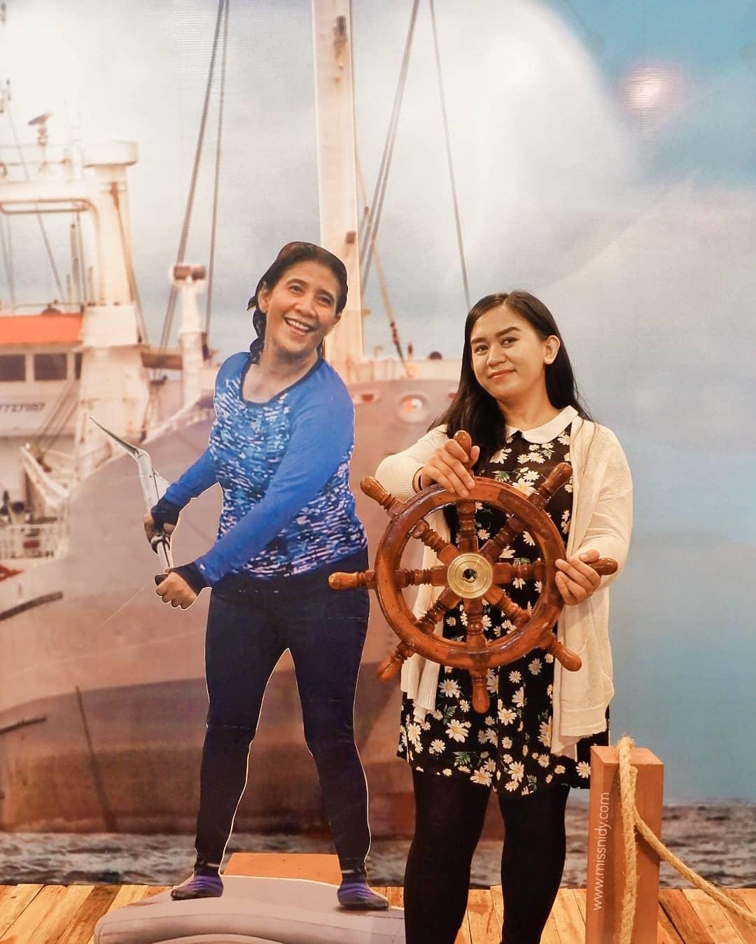 foto bareng menteri kelautan dan perikanan
