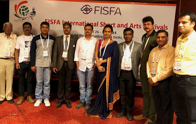 Member of FISFA 2018 Jury alongside filmmaker Sagar Ballary, film journalist Deepak Dua, and actress Bidita Bag