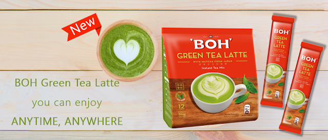 Brand New BOH Green Tea Latte
