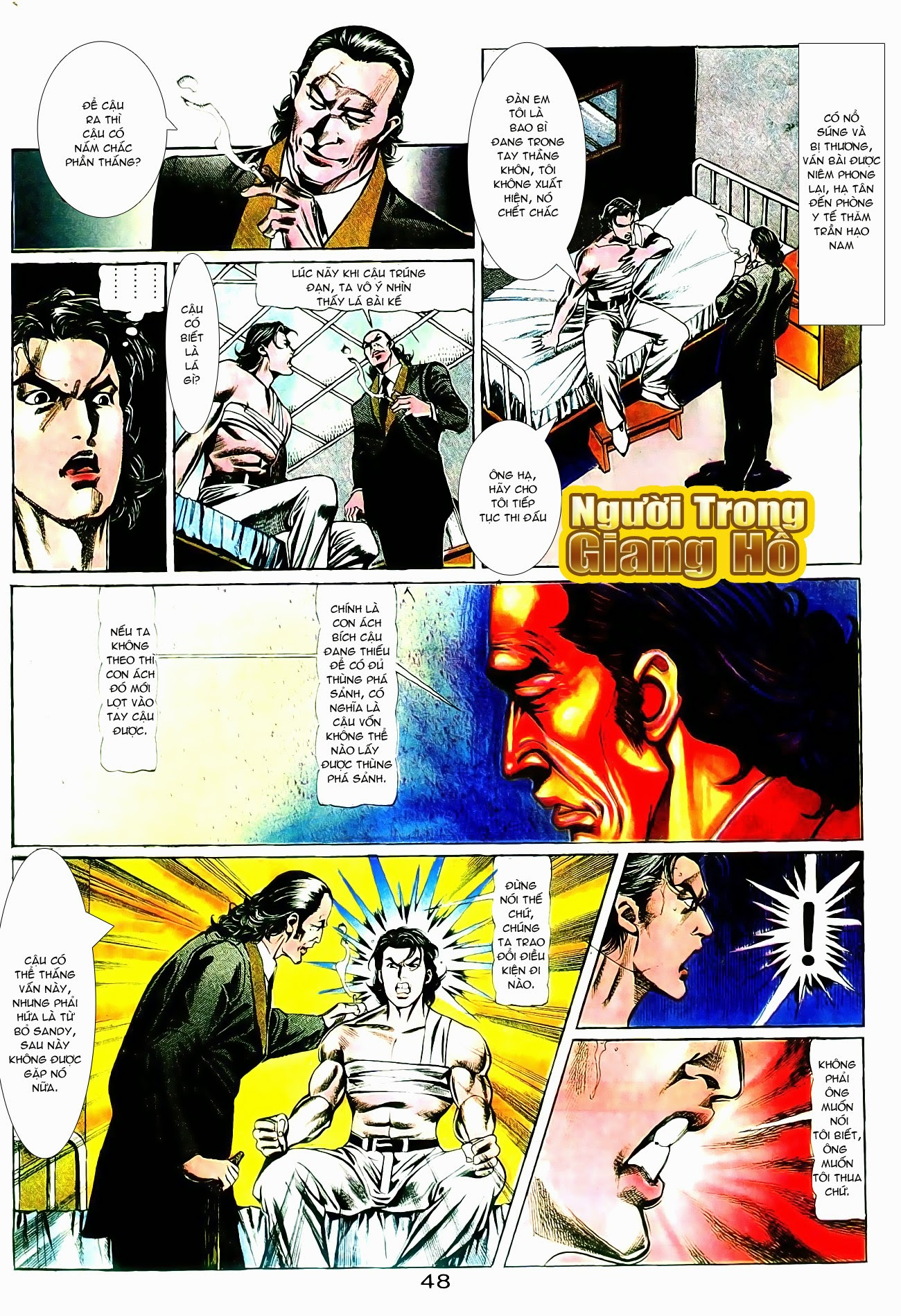 Người Trong Giang Hồ chapter 101: vô địch100% trang 2