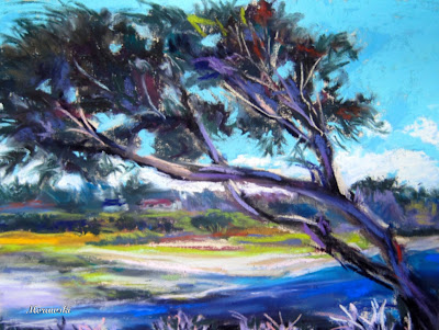 March Comes in Like a Lion---New ArtBirds, Flowers, and Landscape Paintings
