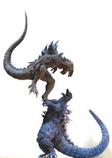"T's Facto 20"" Godzilla vs Zilla resin kit"