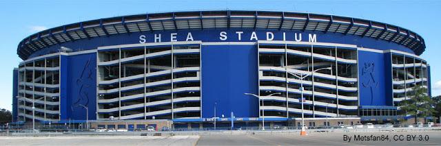 Shea Stadium, onde os Beatles se apresentaram em Nova York