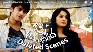 Jyo Achyutananda - Deleted Funny Market Scene - Srinivas Avasarala
