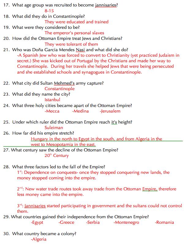 8th Grade Math Final Exam Review Packet - fall semester ...