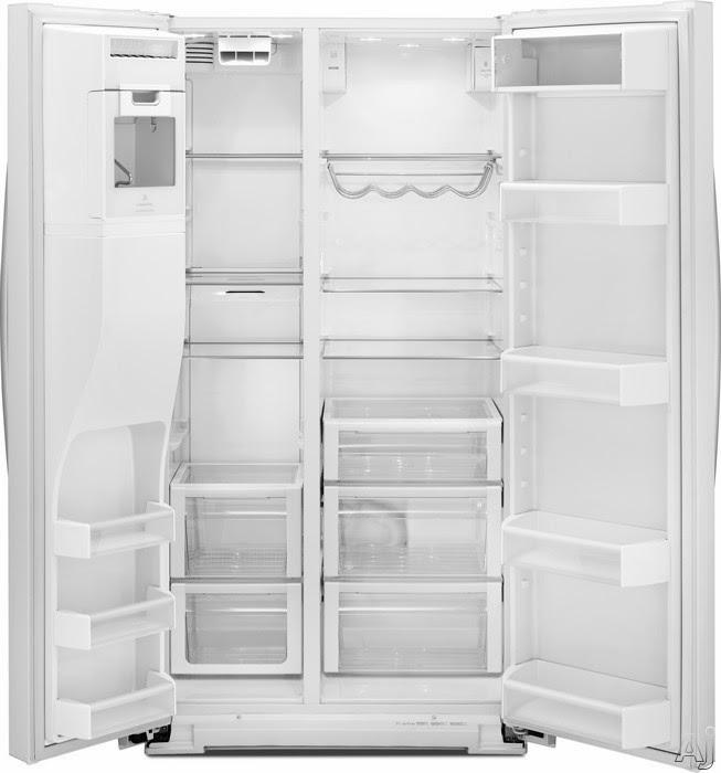 Whirlpool Refrigerator Brand: Black WRS965CIAE Refrigerator