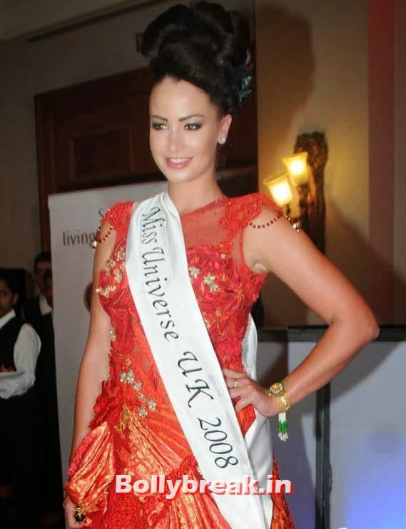 Miss Universe 2008 Lisa Lazarus, Page 3 Celebs at Rohit Varma's A Beautiful You Inside Out Show