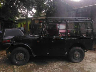 Jeep Klasik Fiat 1965 ...Jarang ada