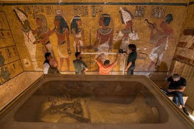 Δεν υπάρχουν πρόσθετοι θάλαμοι πίσω από τον τάφο του Τουταγχαμών