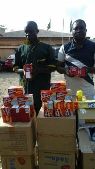 Men arrested for repackaging expired Digestive biscuits in Lagos (See Photos)