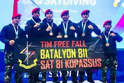 Indonesia Raih Juara 3 Kompetisi Indoor Skydiving di China