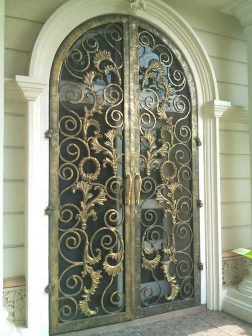 pintu dapur besi 1