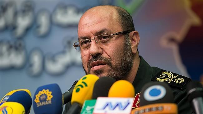 Iranian Defense Minister Brigadier General Hossein Dehqan slams new US sanctions