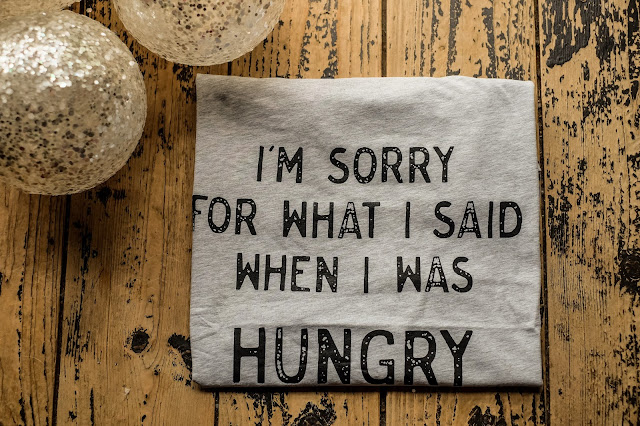 I'm sorry for what I said when I was hungry T-Shirt, Sports Direct Challenge #SDFiverchallenge with britmums, Mandy Charlton photographer, blogger, writer