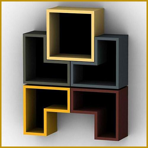 11 more wall mounted bookshelves interior design - Wall mounted bookshelf designs ...