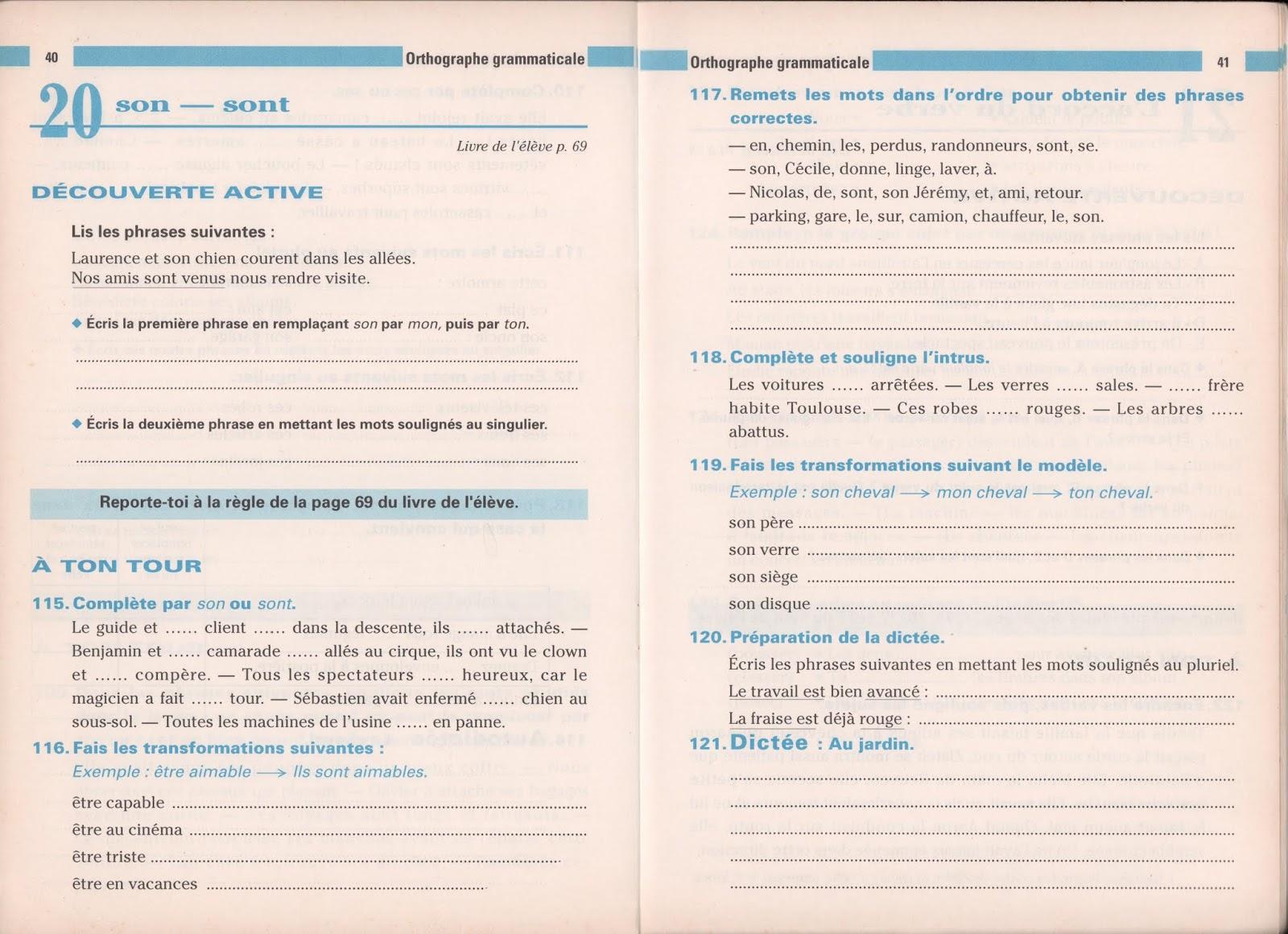 école : références: Bled, Premières leçons d'orthographe CE1