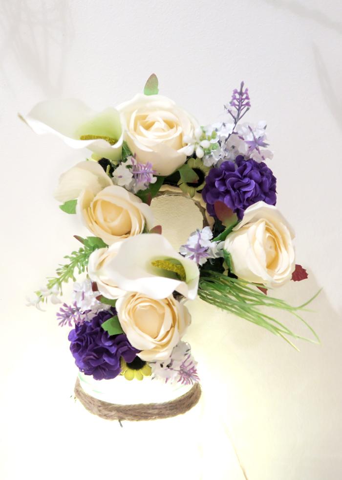 Paige Joanna - Last Minute Flower Decoration Idea on a Budget
